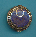 Assymetrical Circle Design Lapis