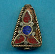 Brass trapezoid, coral and lapis.JPG