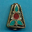 Brass trapezoid, turquoise and coral.JPG