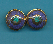 Circle with Flower Beads lapis.JPG