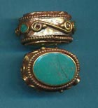 Oval Scroll Side Turquoise.JPG