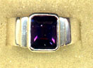 Ring Amethyst only Step